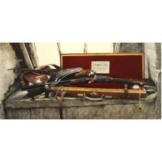 Pheasant on a J Roberts Guncase