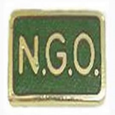 Green NGO Lapel Badge